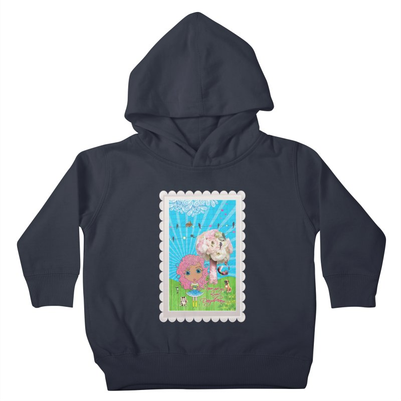 Daydreams Really Do Come True - Light Haired Version Kids Toddler Pullover Hoody by LittleMissTyne's Artist Shop