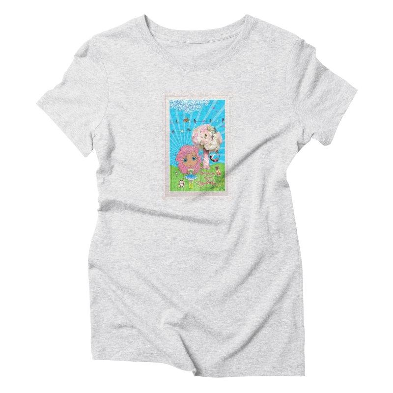 Daydreams Really Do Come True - Light Haired Version Women's T-Shirt by LittleMissTyne's Artist Shop