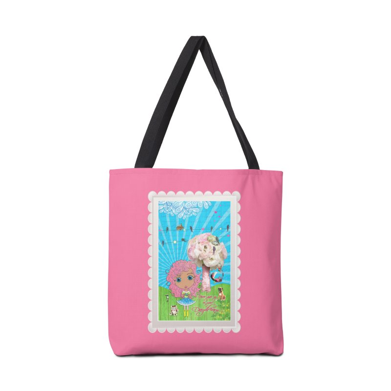 Daydreams Really Do Come True - Light Haired Version Accessories Tote Bag Bag by LittleMissTyne's Artist Shop
