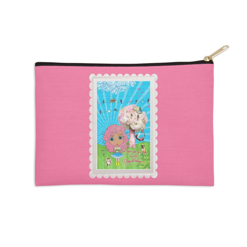 Daydreams Really Do Come True - Light Haired Version Accessories Zip Pouch by LittleMissTyne's Artist Shop