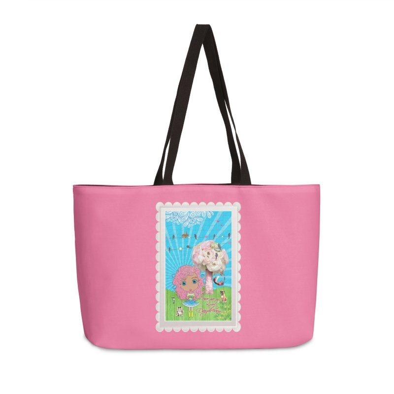 Daydreams Really Do Come True - Light Haired Version Accessories Weekender Bag Bag by LittleMissTyne's Artist Shop