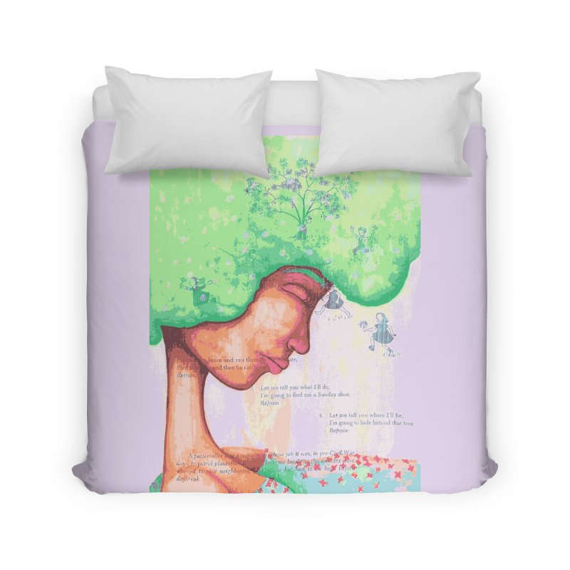 Mother of Nature Home Duvet by Little Miss Tyne's Artist Shop