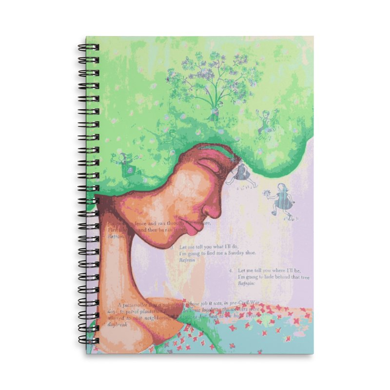 Mother of Nature Accessories Notebook by Little Miss Tyne's Artist Shop