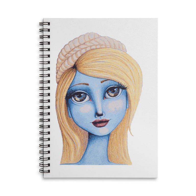I Heart Smurfette Accessories Notebook by Little Miss Tyne's Artist Shop