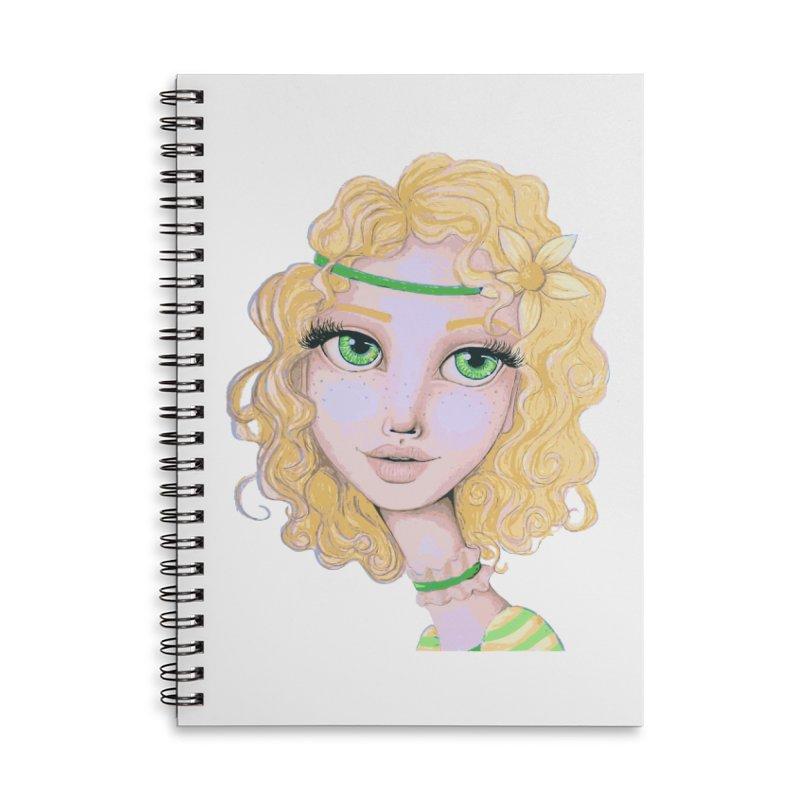 I Heart Lemon Meringue Accessories Notebook by Little Miss Tyne's Artist Shop
