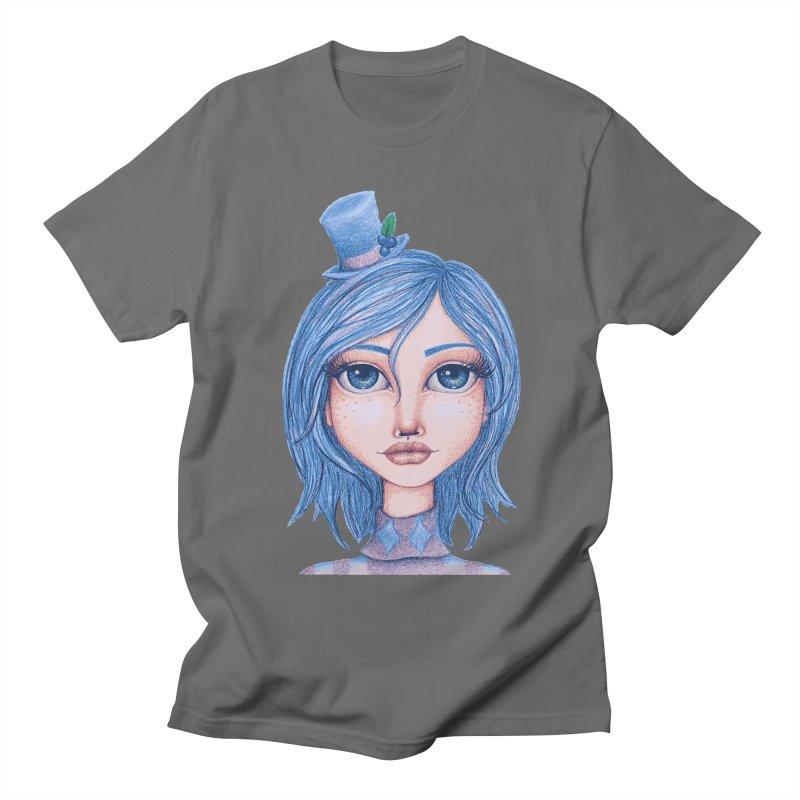 I Heart Blueberry Muffin Men's T-Shirt by Little Miss Tyne's Artist Shop