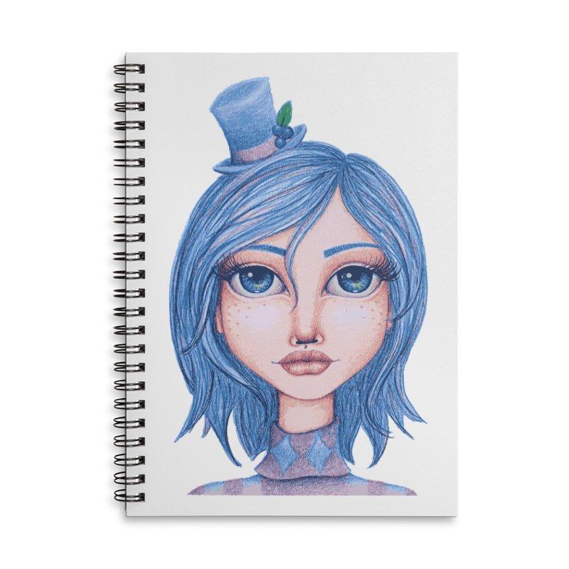 I Heart Blueberry Muffin Accessories Notebook by Little Miss Tyne's Artist Shop