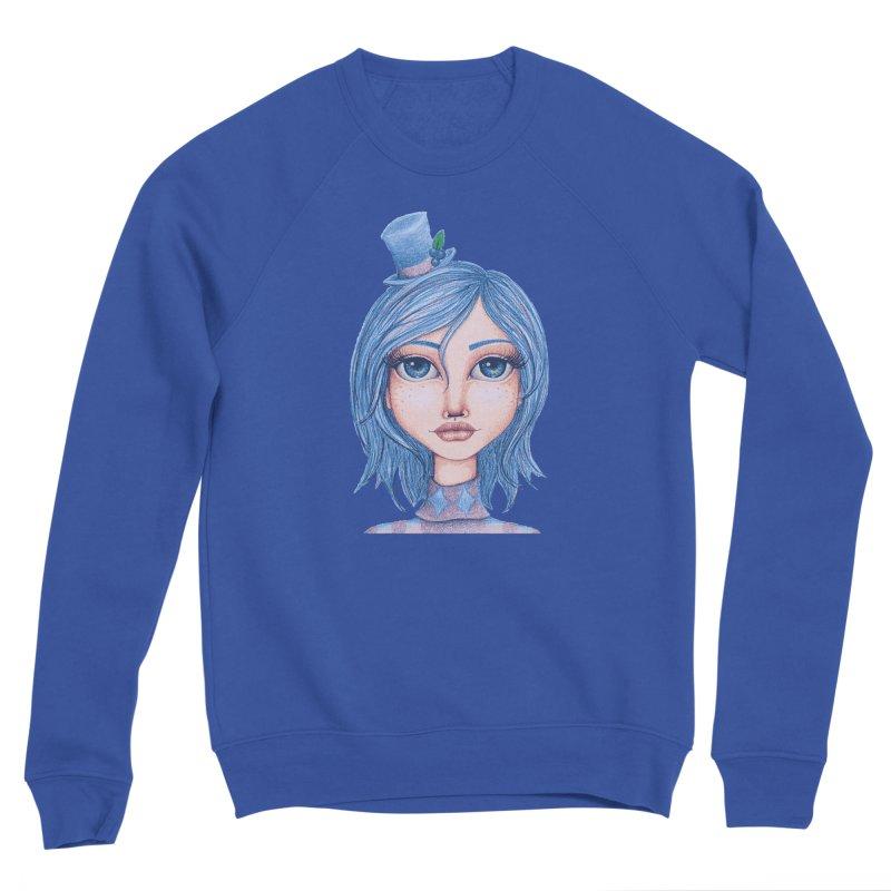 I Heart Blueberry Muffin Women's Sweatshirt by Little Miss Tyne's Artist Shop
