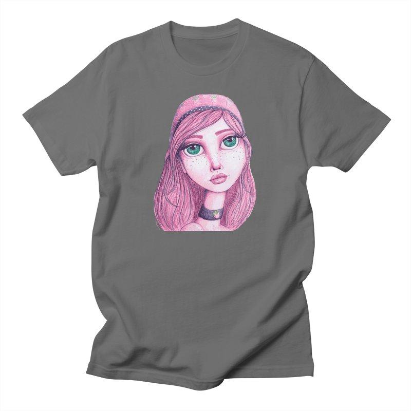 I Heart Strawberry Shortcake Men's T-Shirt by Little Miss Tyne's Artist Shop