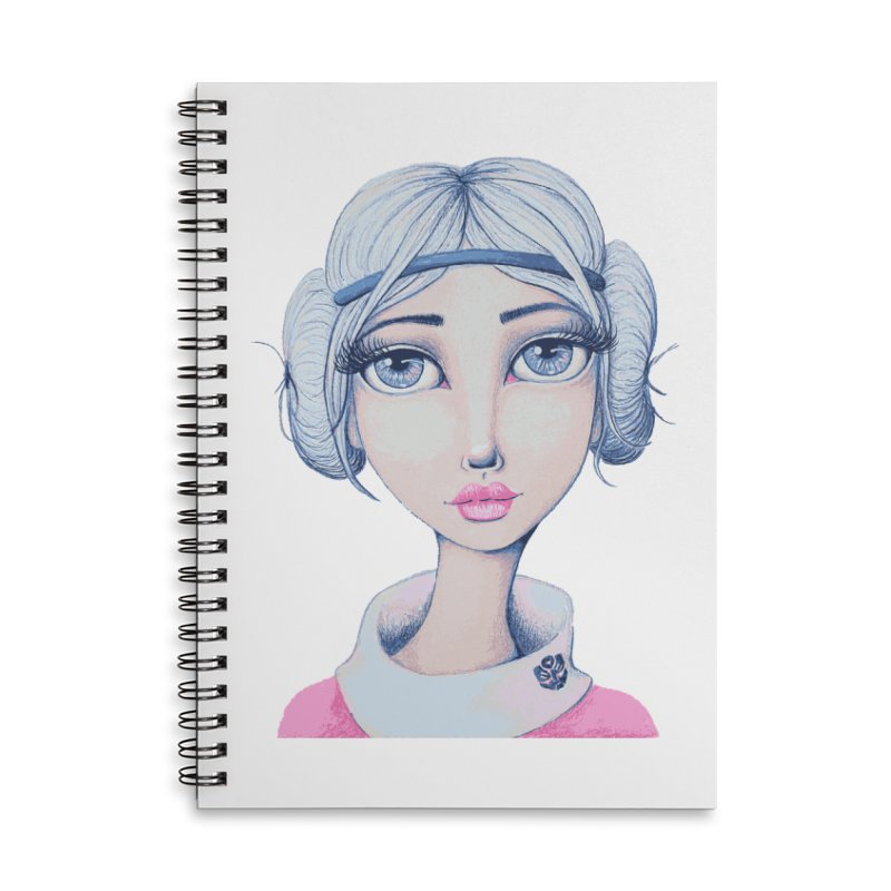 I Heart Arcee Accessories Notebook by Little Miss Tyne's Artist Shop