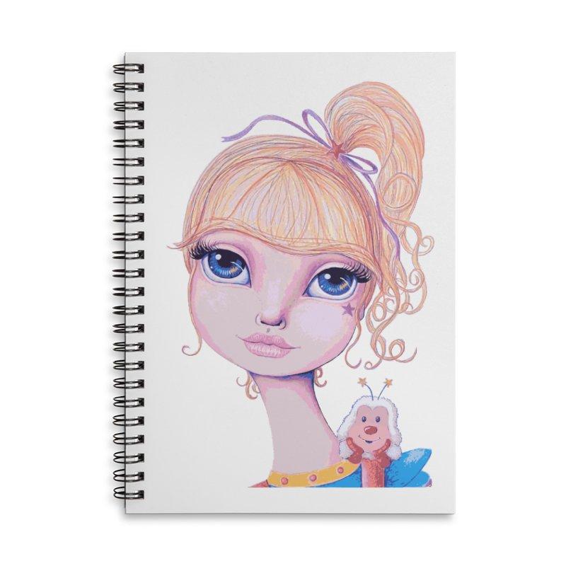 I Heart Rainbow Brite Accessories Notebook by Little Miss Tyne's Artist Shop