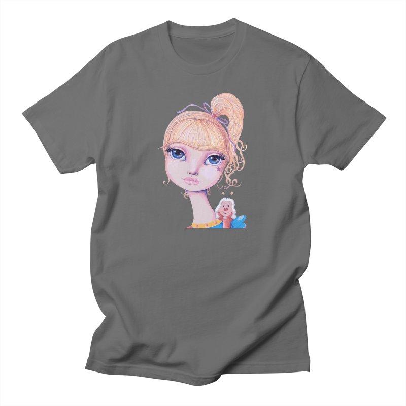 I Heart Rainbow Brite Men's T-Shirt by Little Miss Tyne's Artist Shop