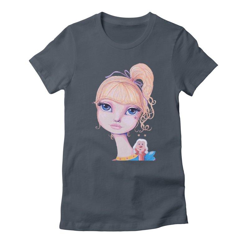 I Heart Rainbow Brite Women's T-Shirt by Little Miss Tyne's Artist Shop