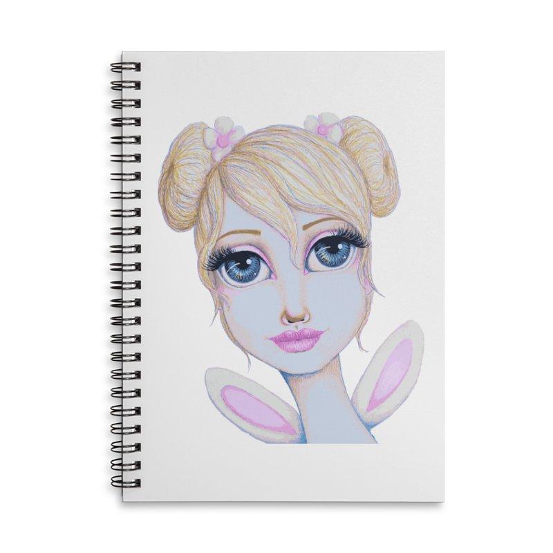 I Heart Butterbear Accessories Notebook by Little Miss Tyne's Artist Shop