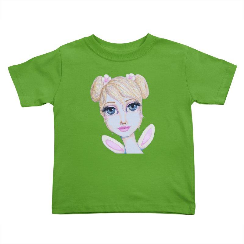 I Heart Butterbear Kids Toddler T-Shirt by Little Miss Tyne's Artist Shop