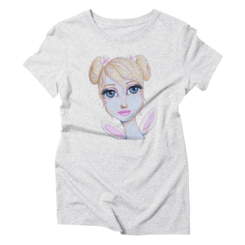 I Heart Butterbear Women's T-Shirt by Little Miss Tyne's Artist Shop