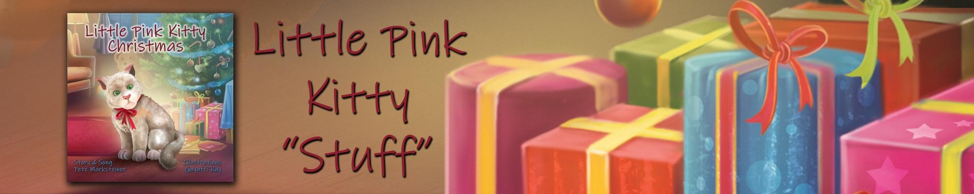 LittlePinkKittyChristmas Cover