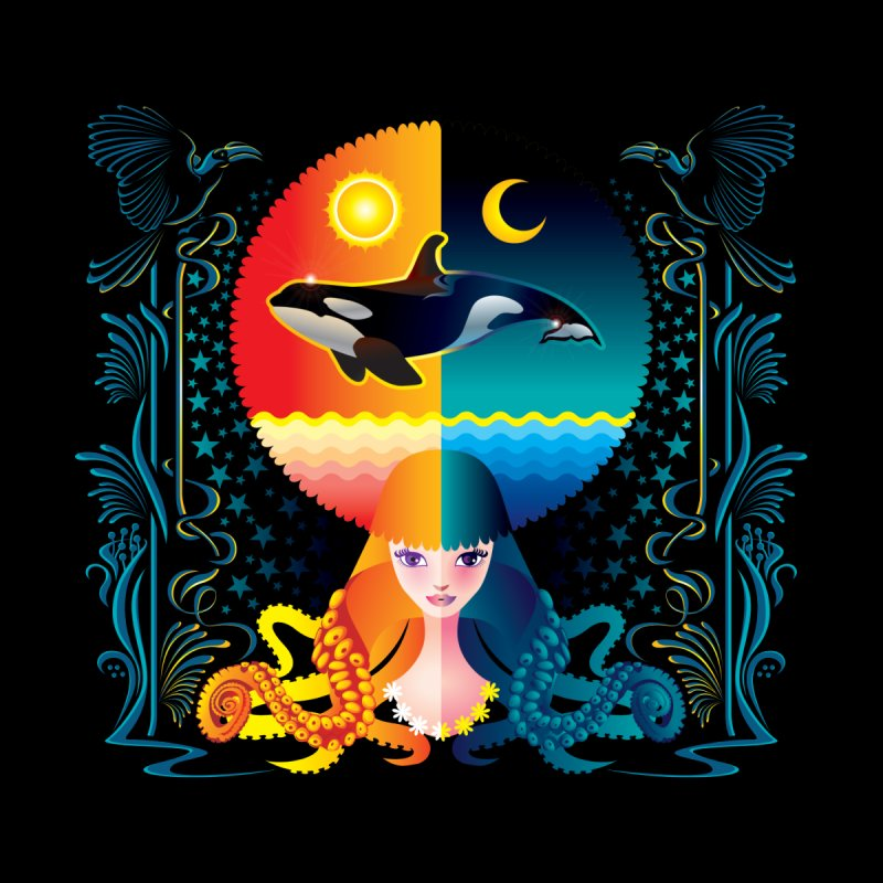 Day & Night: Dream of Whale by Littlebitmoar's Artist Shop