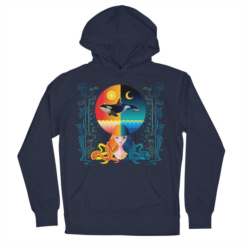 Day & Night: Dream of Whale Women's Pullover Hoody by Littlebitmoar's Artist Shop