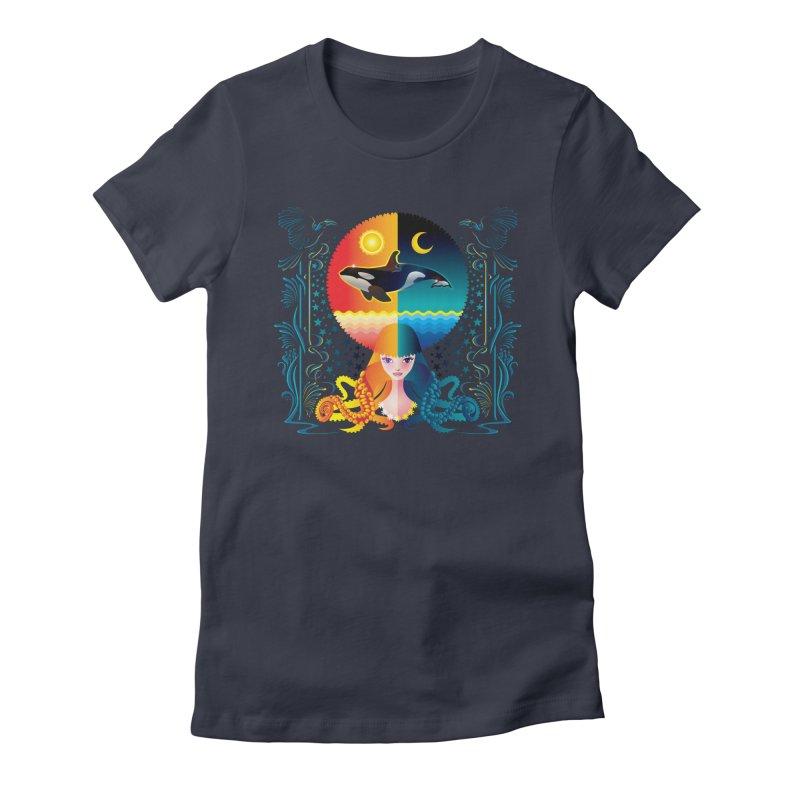 Day & Night: Dream of Whale   by Littlebitmoar's Artist Shop