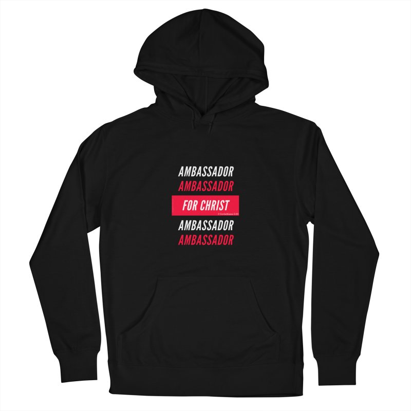 Ambassador For Christ White Letter Women's Pullover Hoody by Living Virtuous Boutique