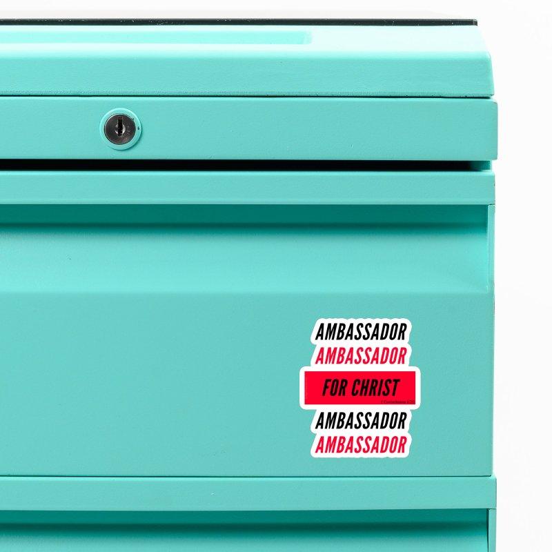 Ambassador Collection Black Letter Accessories Magnet by Living Virtuous Boutique