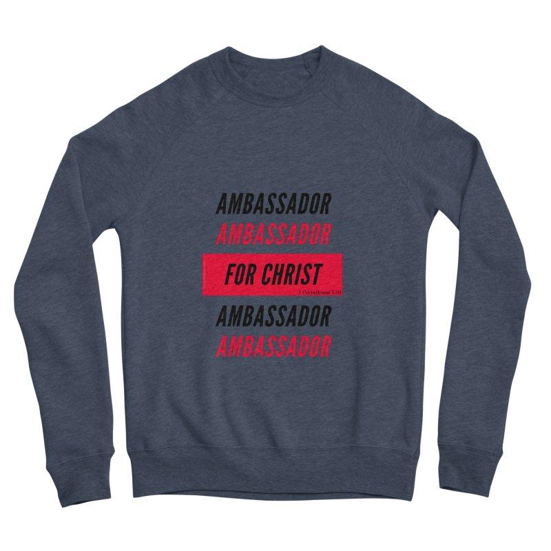 Ambassador Collection Black Letter Men's Sponge Fleece Sweatshirt by Living Virtuous Boutique