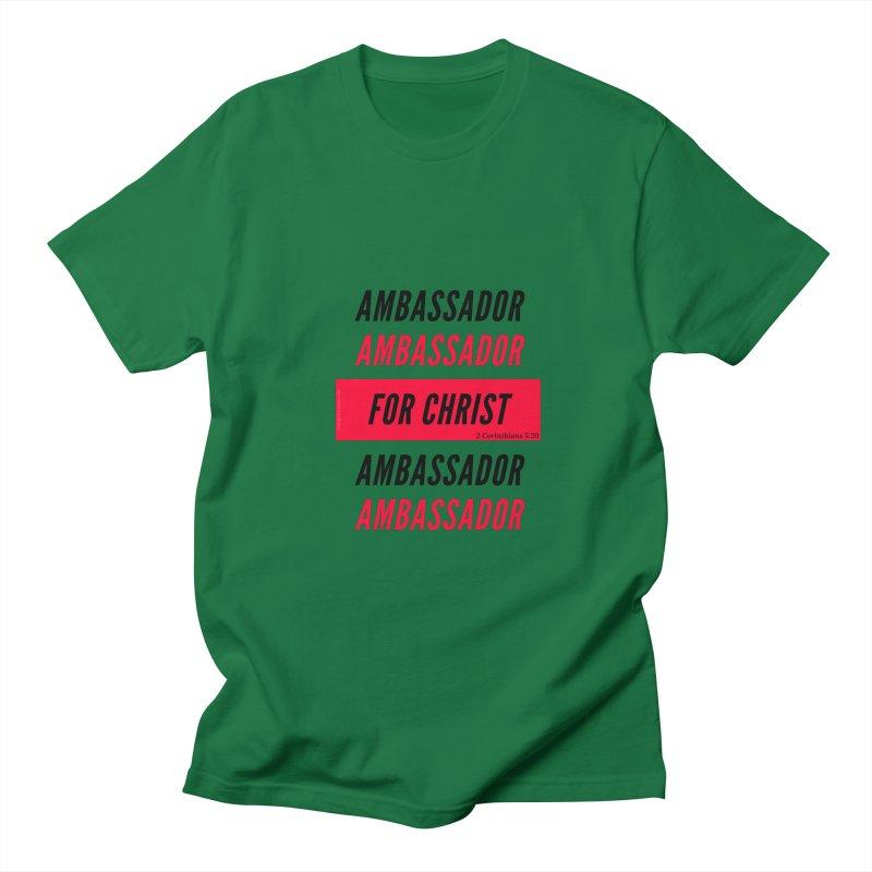 Ambassador Collection Black Letter Women's Regular Unisex T-Shirt by Living Virtuous Boutique