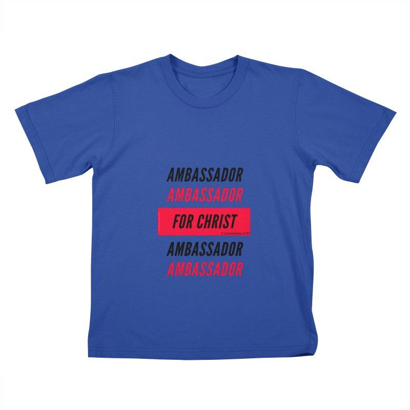 Ambassador Collection Black Letter Kids T-Shirt by Living Virtuous Boutique