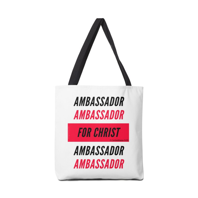 Ambassador Collection Black Letter Accessories Tote Bag Bag by Living Virtuous Boutique