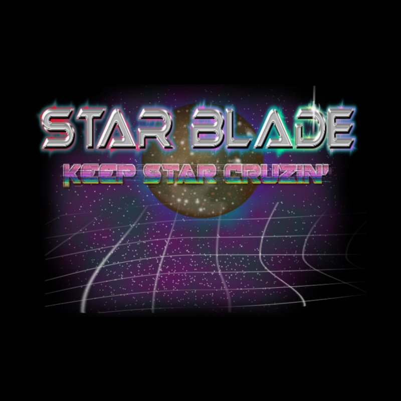 Star Blade Keep Star Cruzin' Men's Baseball Triblend T-Shirt by LlamapajamaTs's Artist Shop