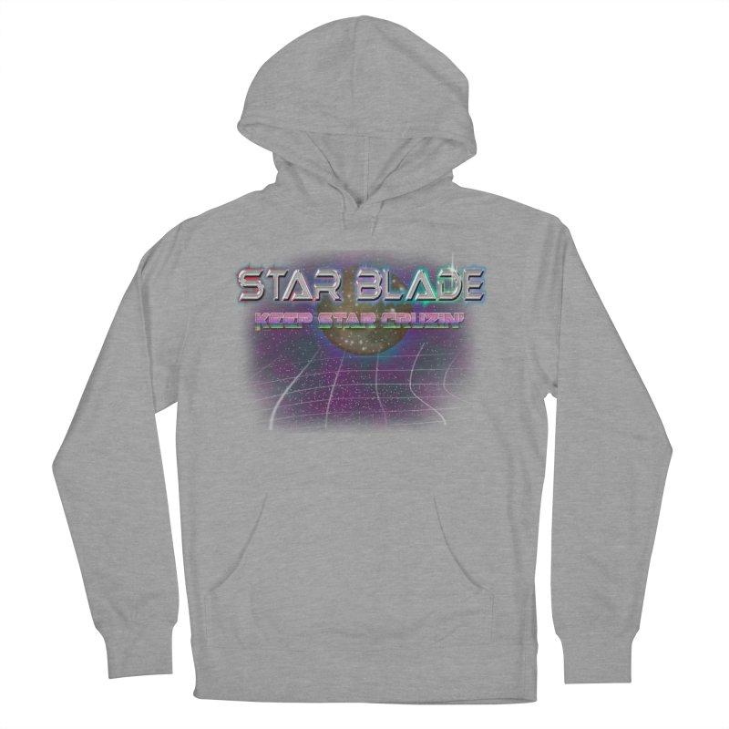 Star Blade Keep Star Cruzin' Men's Pullover Hoody by LlamapajamaTs's Artist Shop