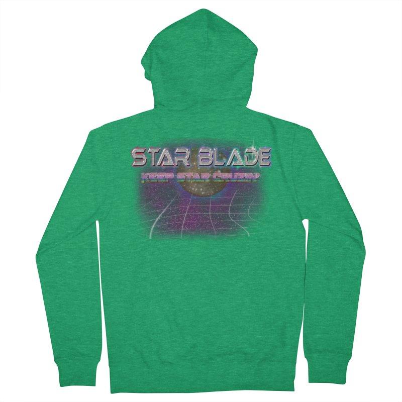 Star Blade Keep Star Cruzin' Women's Zip-Up Hoody by LlamapajamaTs's Artist Shop
