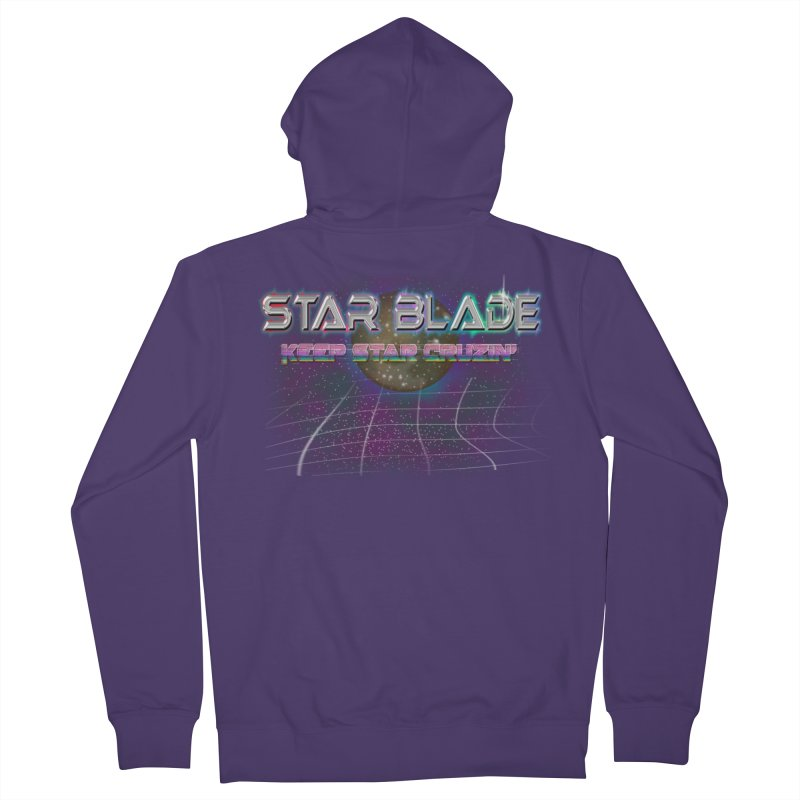 Star Blade Keep Star Cruzin' Women's Zip-Up Hoody by LlamapajamaTs's Artist Shop