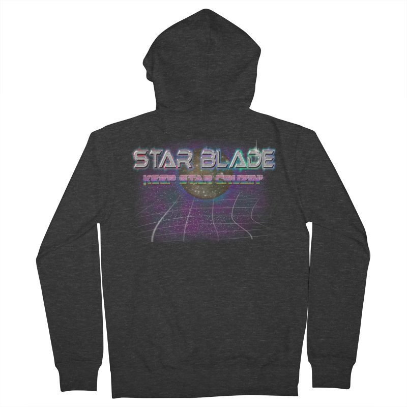 Star Blade Keep Star Cruzin' Men's Zip-Up Hoody by LlamapajamaTs's Artist Shop