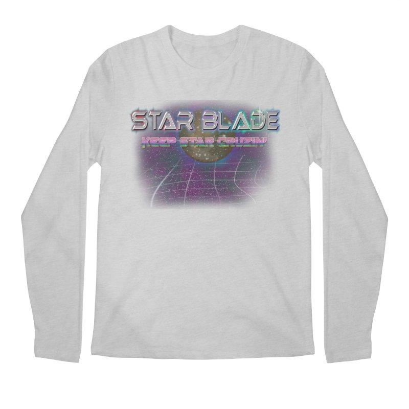 Star Blade Keep Star Cruzin' Men's Longsleeve T-Shirt by LlamapajamaTs's Artist Shop