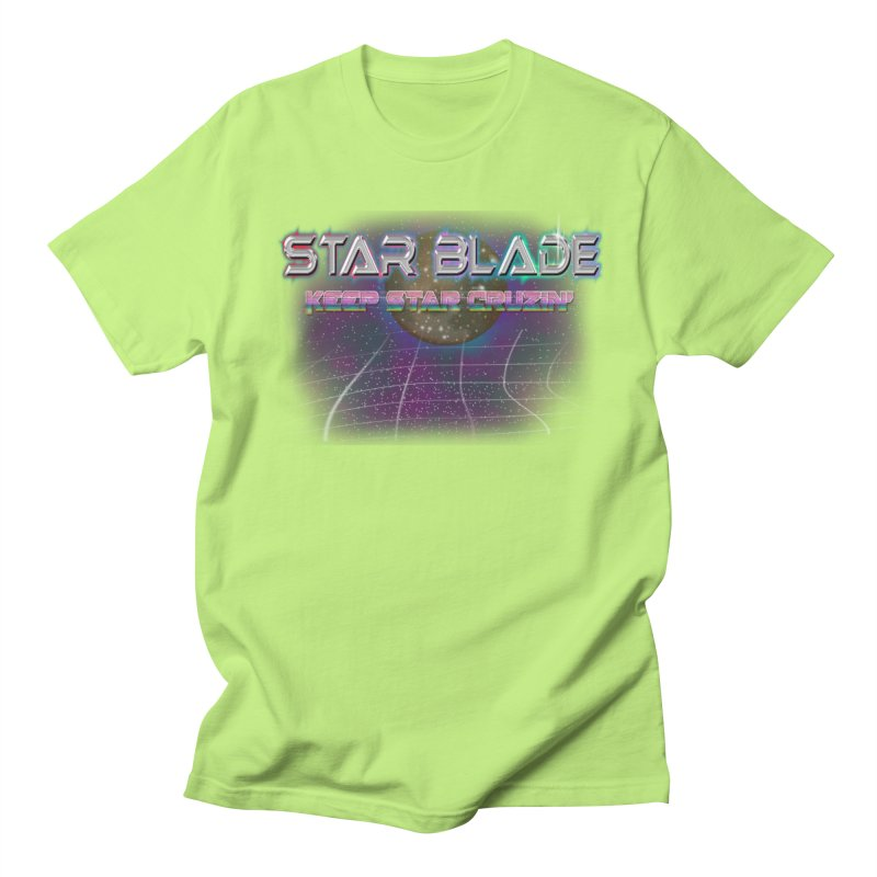 Star Blade Keep Star Cruzin' Women's Unisex T-Shirt by LlamapajamaTs's Artist Shop