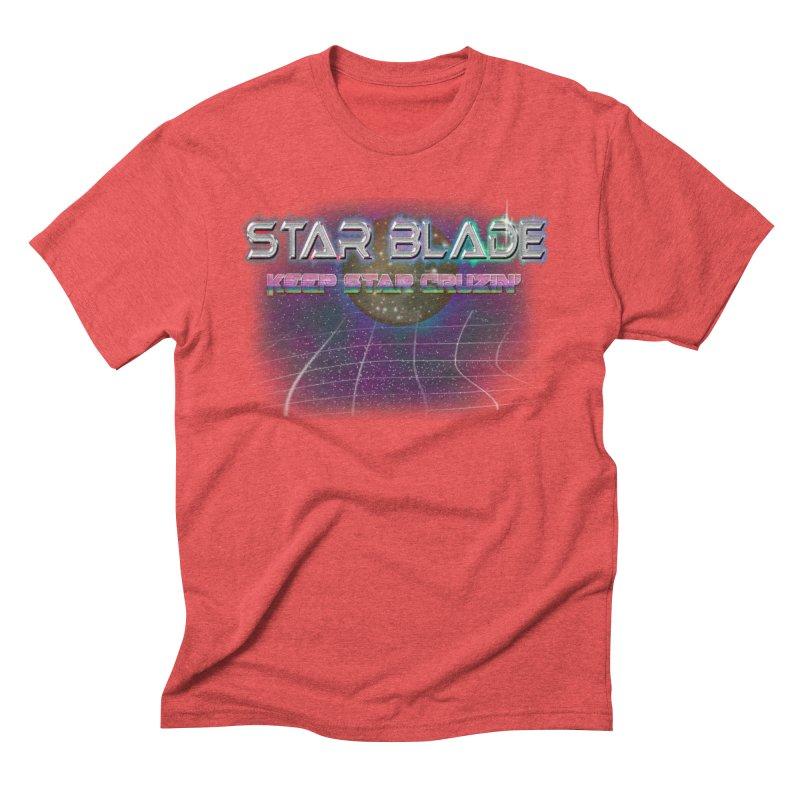 Star Blade Keep Star Cruzin' Men's Triblend T-shirt by LlamapajamaTs's Artist Shop