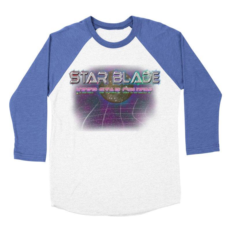 Star Blade Keep Star Cruzin' Men's Baseball Triblend T-Shirt by LlamapajamaTs's Artist Shop