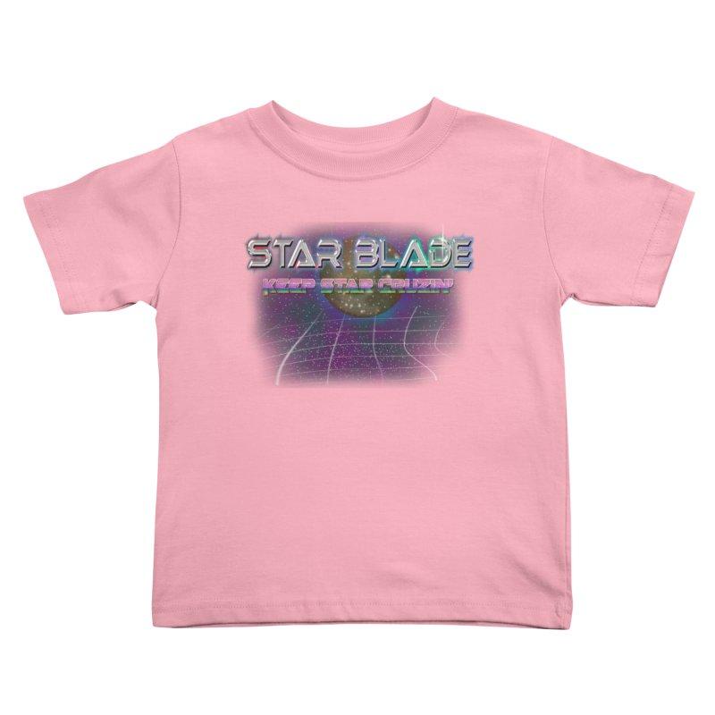 Star Blade Keep Star Cruzin' Kids Toddler T-Shirt by LlamapajamaTs's Artist Shop