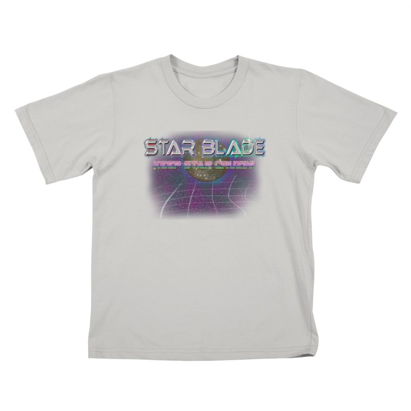 Star Blade Keep Star Cruzin' Kids T-shirt by LlamapajamaTs's Artist Shop