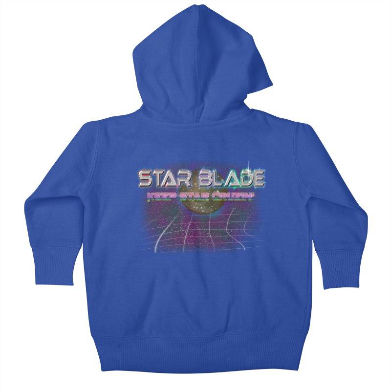 Star Blade Keep Star Cruzin' Kids Baby Zip-Up Hoody by LlamapajamaTs's Artist Shop