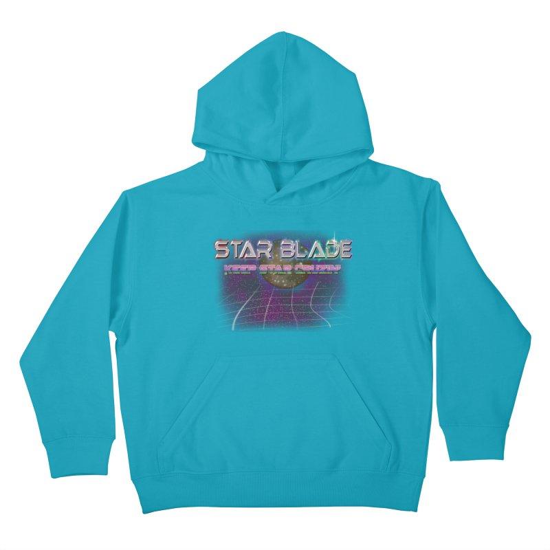 Star Blade Keep Star Cruzin' Kids Pullover Hoody by LlamapajamaTs's Artist Shop
