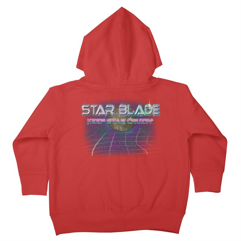 Star Blade Keep Star Cruzin' Kids Toddler Zip-Up Hoody by LlamapajamaTs's Artist Shop