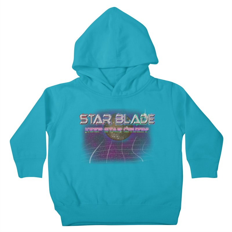 Star Blade Keep Star Cruzin' Kids Toddler Pullover Hoody by LlamapajamaTs's Artist Shop