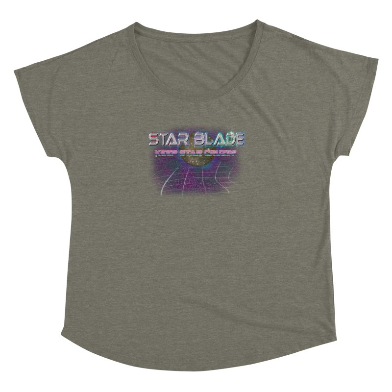 Star Blade Keep Star Cruzin' Women's Dolman by LlamapajamaTs's Artist Shop