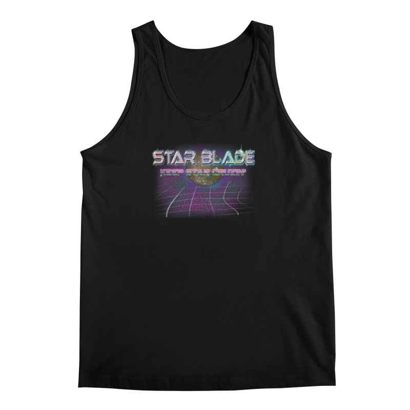 Star Blade Keep Star Cruzin' Men's Tank by LlamapajamaTs's Artist Shop