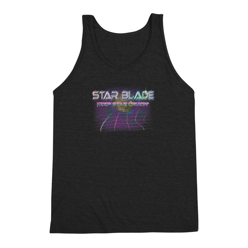 Star Blade Keep Star Cruzin' Men's Triblend Tank by LlamapajamaTs's Artist Shop