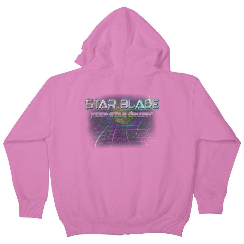 Star Blade Keep Star Cruzin' Kids Zip-Up Hoody by LlamapajamaTs's Artist Shop