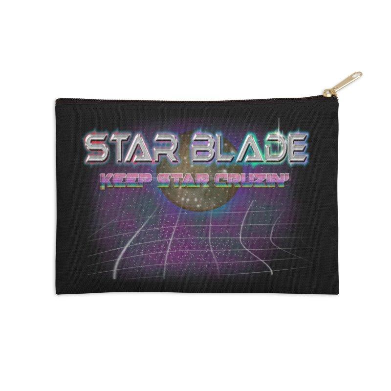 Star Blade Keep Star Cruzin' Accessories Zip Pouch by LlamapajamaTs's Artist Shop